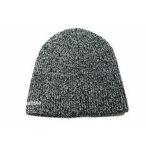NWT Columbia Gray Black Knit Beanie Hat Cap